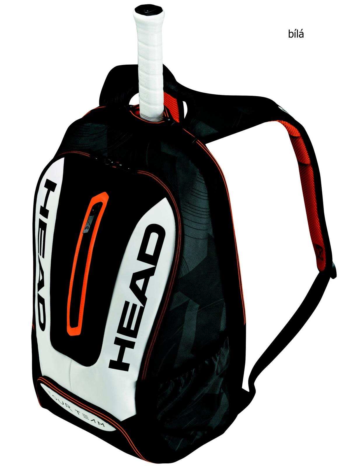 Tenisová taška HEAD Tour Backpack - bílá