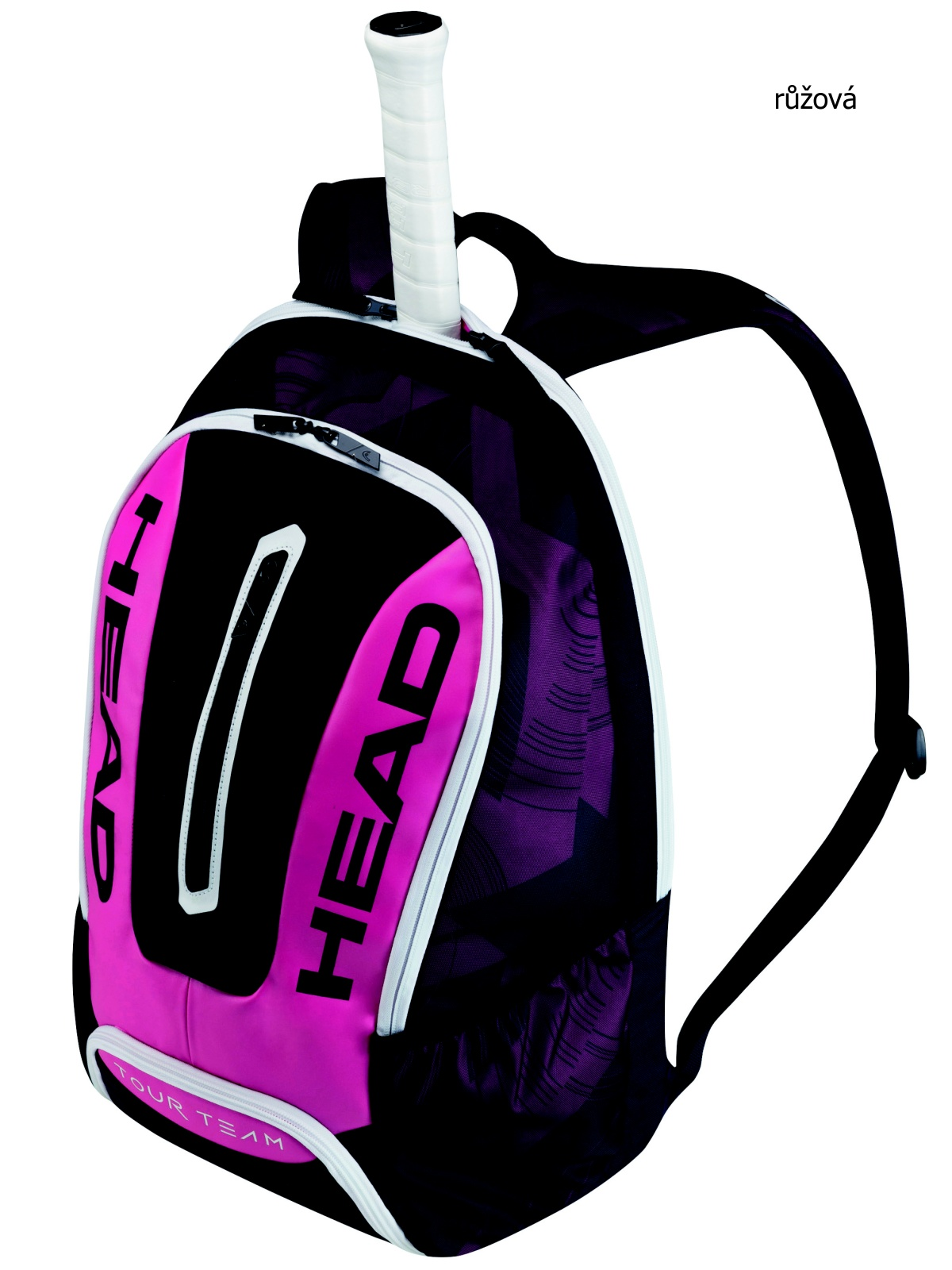Tenisová taška HEAD Tour Backpack - růžová