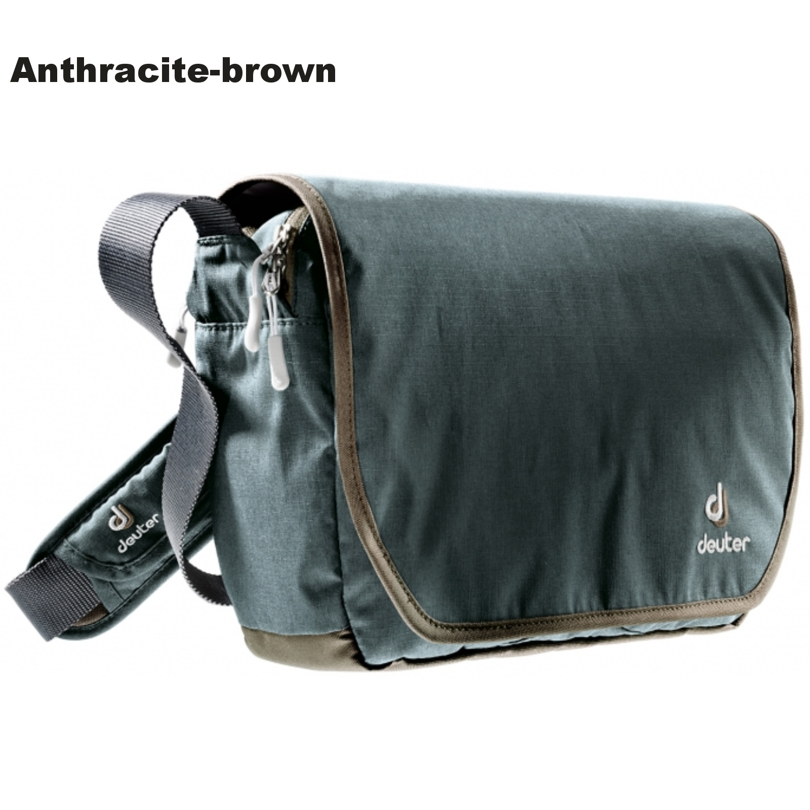 Taška přes rameno DEUTER Carry out - anthracite-brown