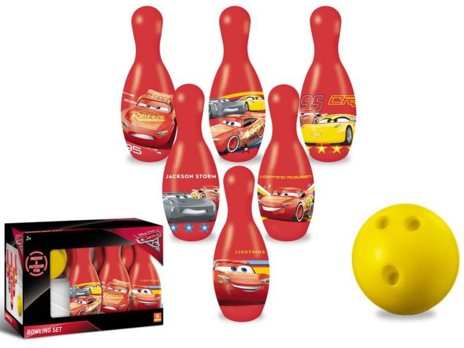 Dětské kuželky MONDO Cars