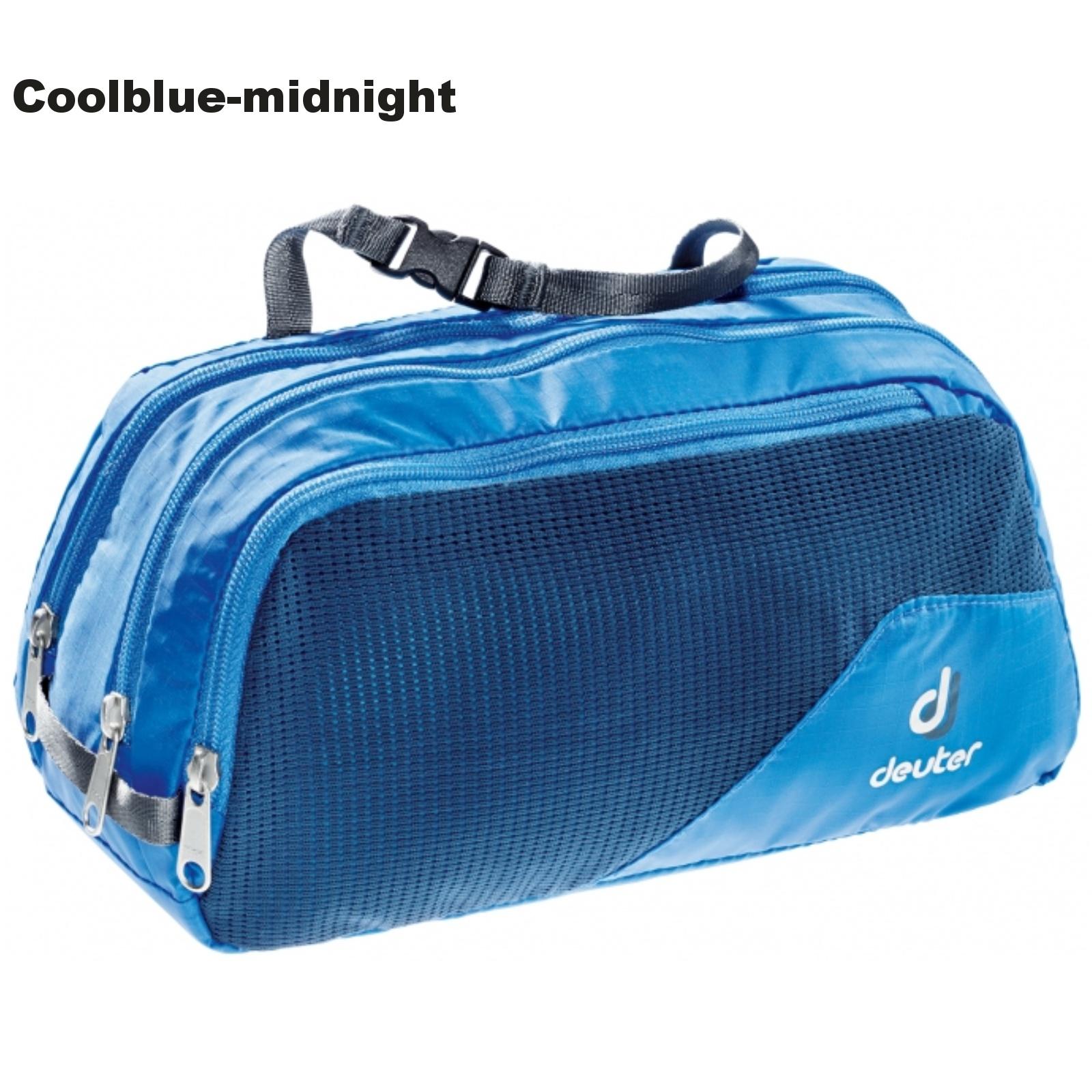 Toaletní taška DEUTER Wash Bag Tour III - coolblue-midnight