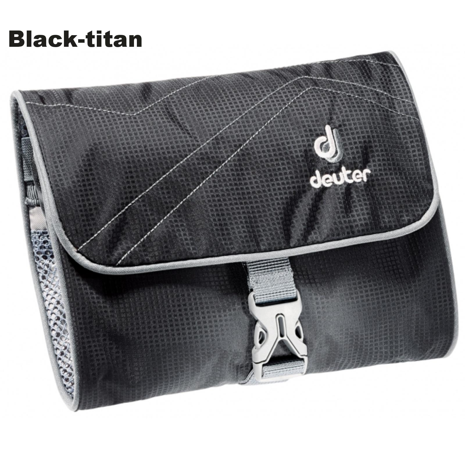 Toaletní taška DEUTER Wash Bag I - black-titan