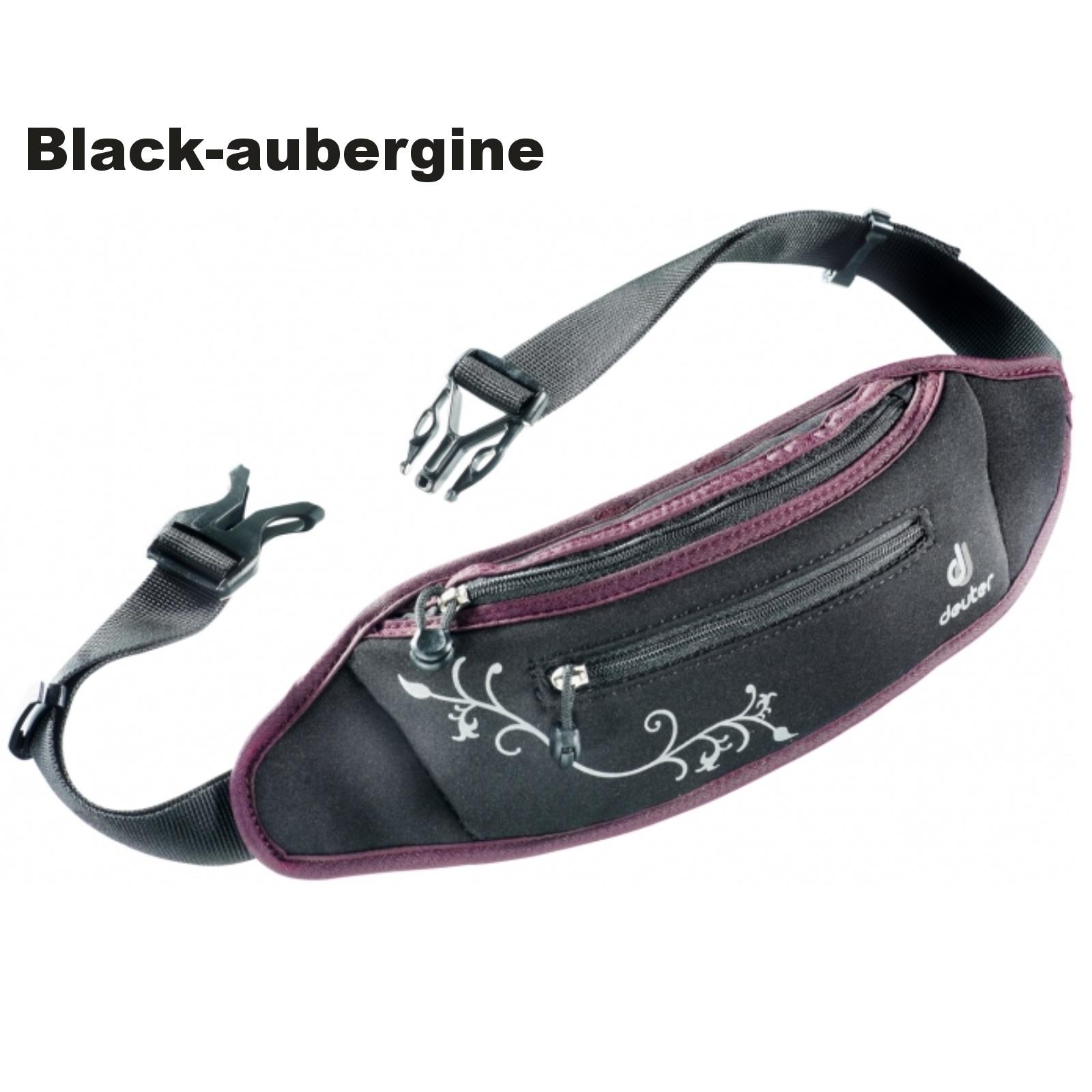 Ledvinka DEUTER Neo Belt I - black-aubergine