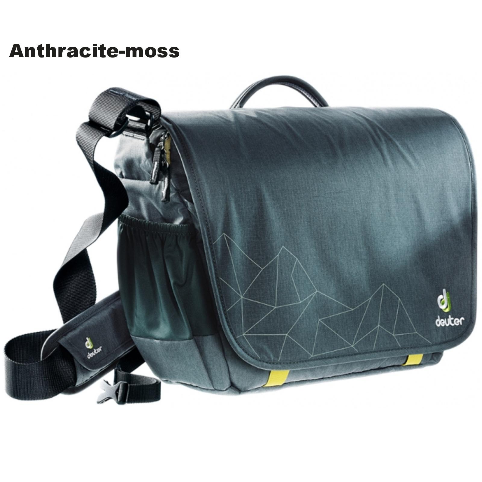 Taška přes rameno DEUTER Operate II - anthracite-moss