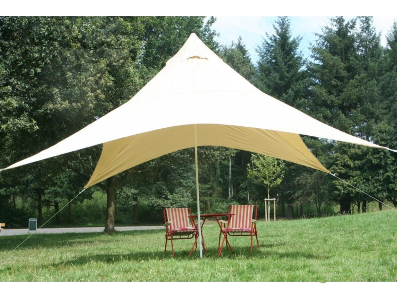 Kempingová sluneční plachta PEDDY SHIELD pyramida