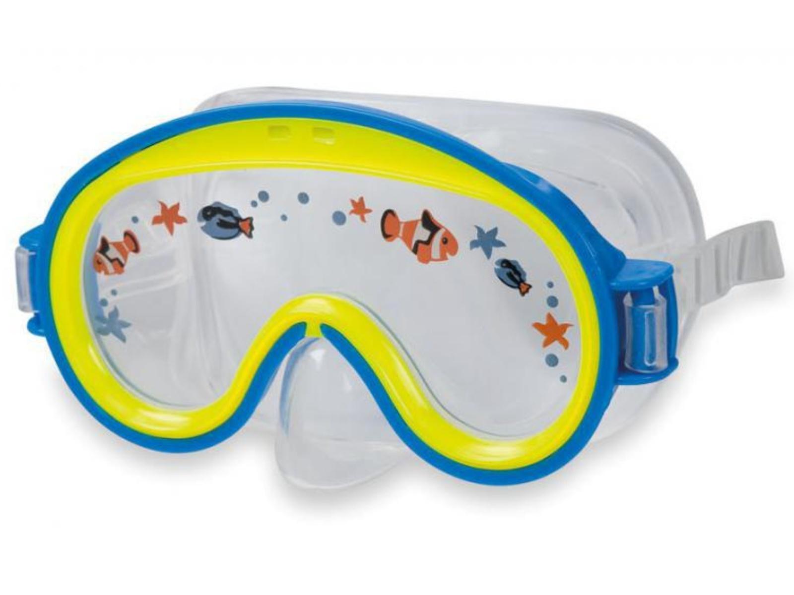 Potápěčské brýle INTEX Mini Aviator - modré