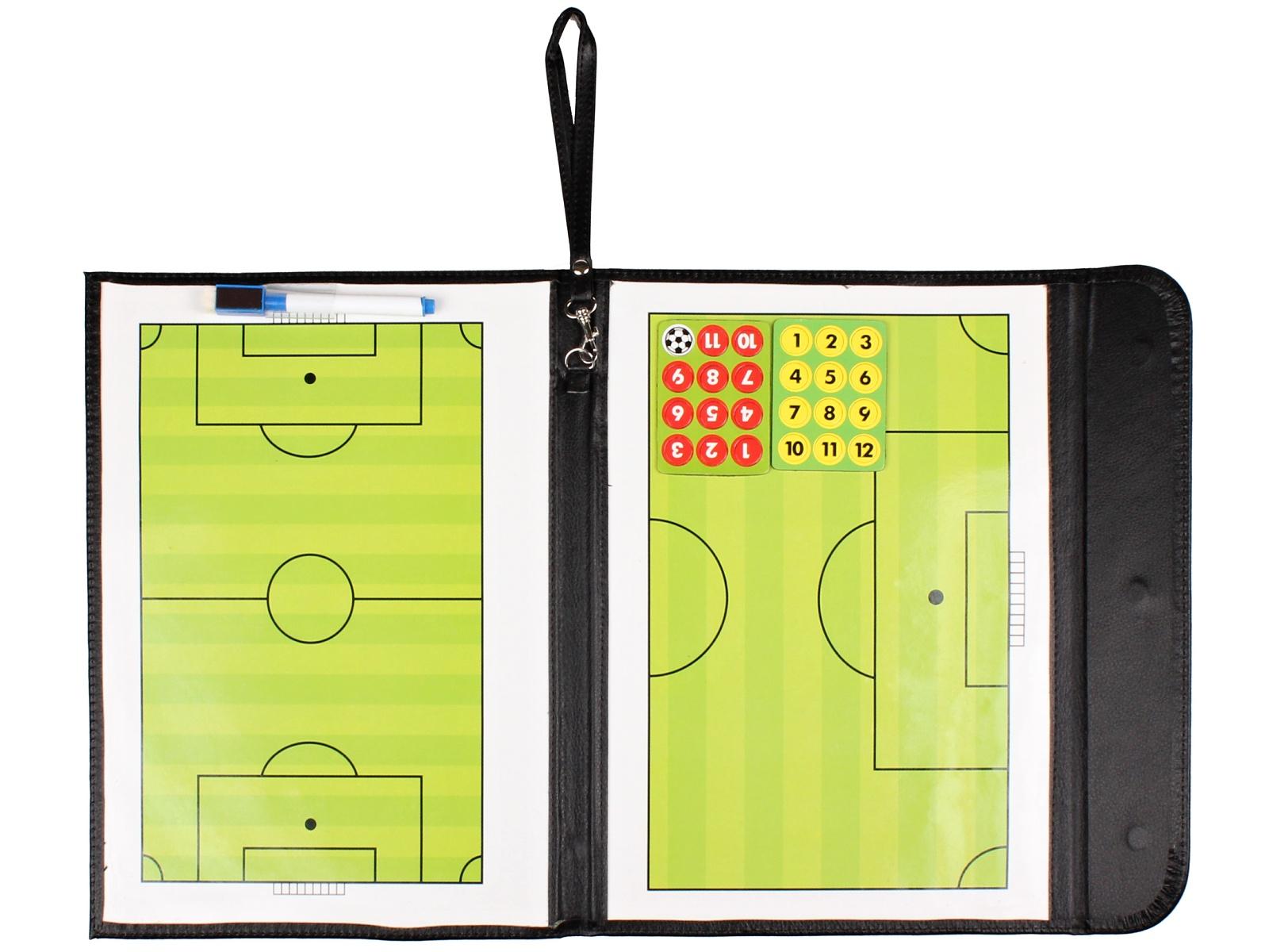 Fotbalová trenérská tabule, magnetická