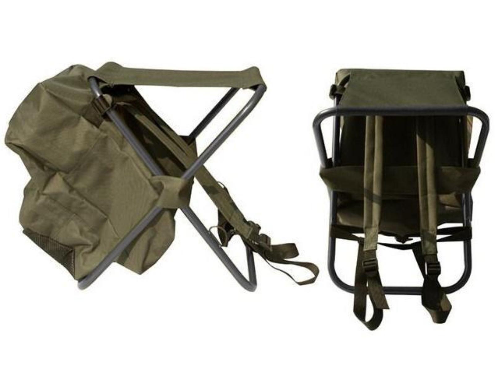 Kempingová skládací židle SEDCO s batohem