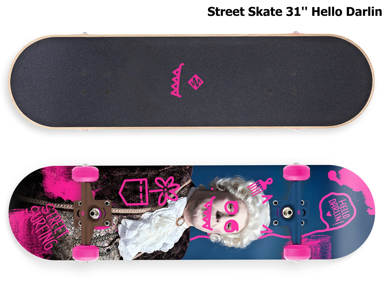 Skateboard STREET SURFING Street Skate 31'' Hello Darlin