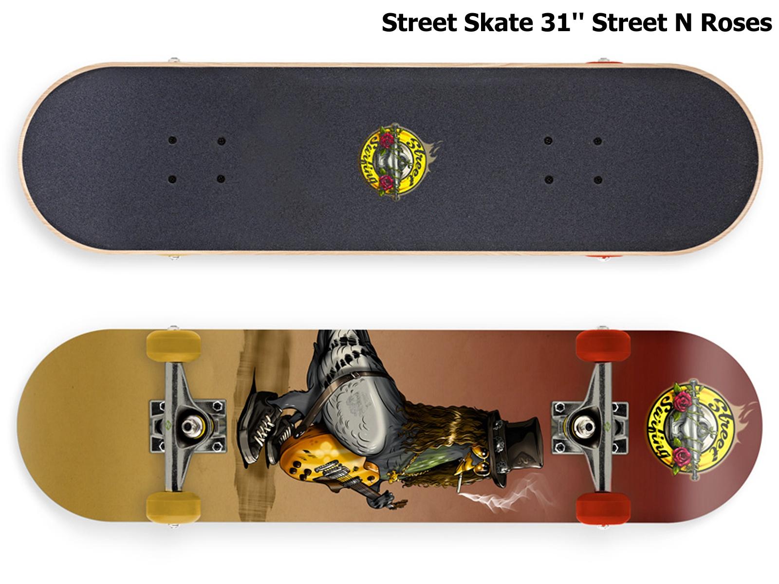 Skateboard STREET SURFING Street Skate 31'' Street N Roses