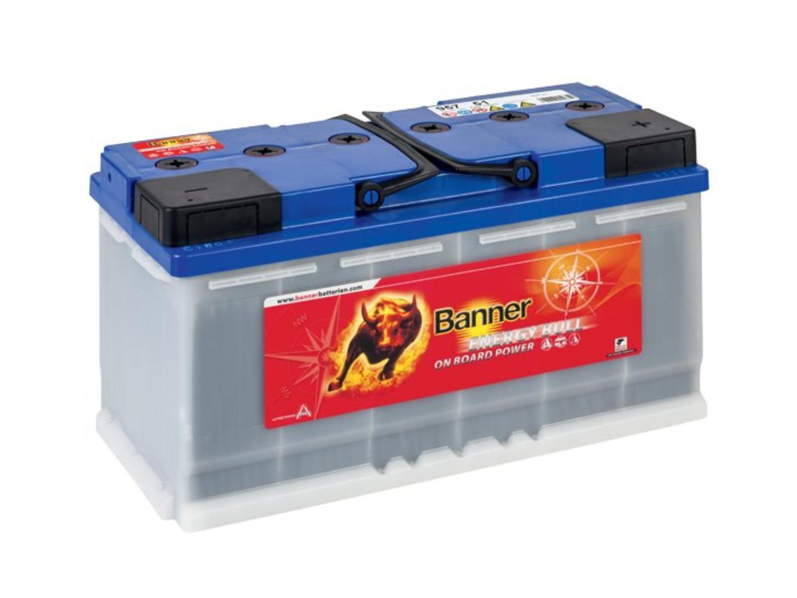 Trakční baterie BANNER Energy Bull 100Ah