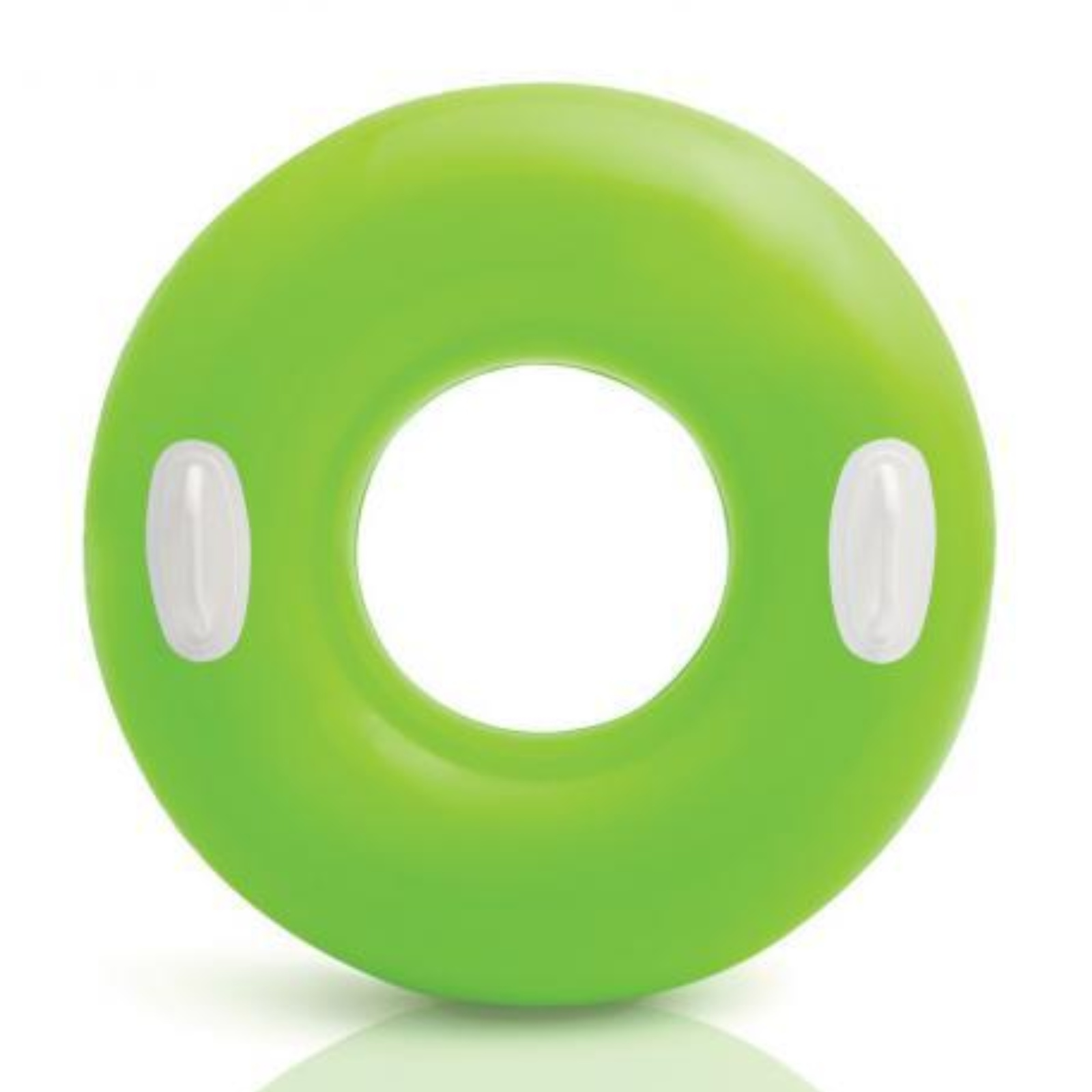 Nafukovací kruh s držadlem 76 cm - zelený