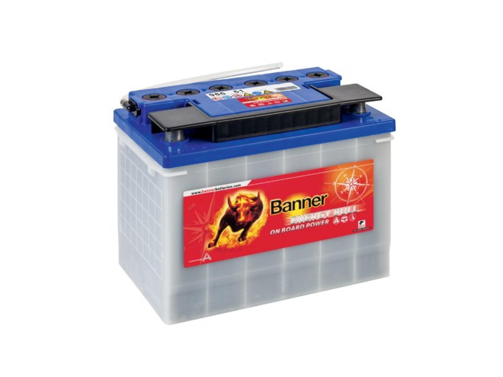 Trakční baterie BANNER Energy Bull 72Ah