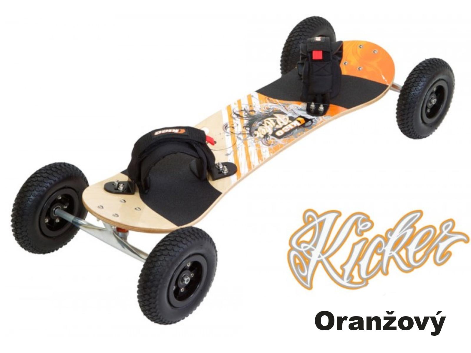 Mountainboard KHEO Kicker oranžový