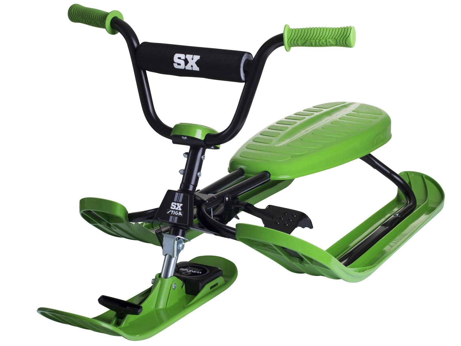 Skibob STIGA Snow Racer SX PRO - zelený