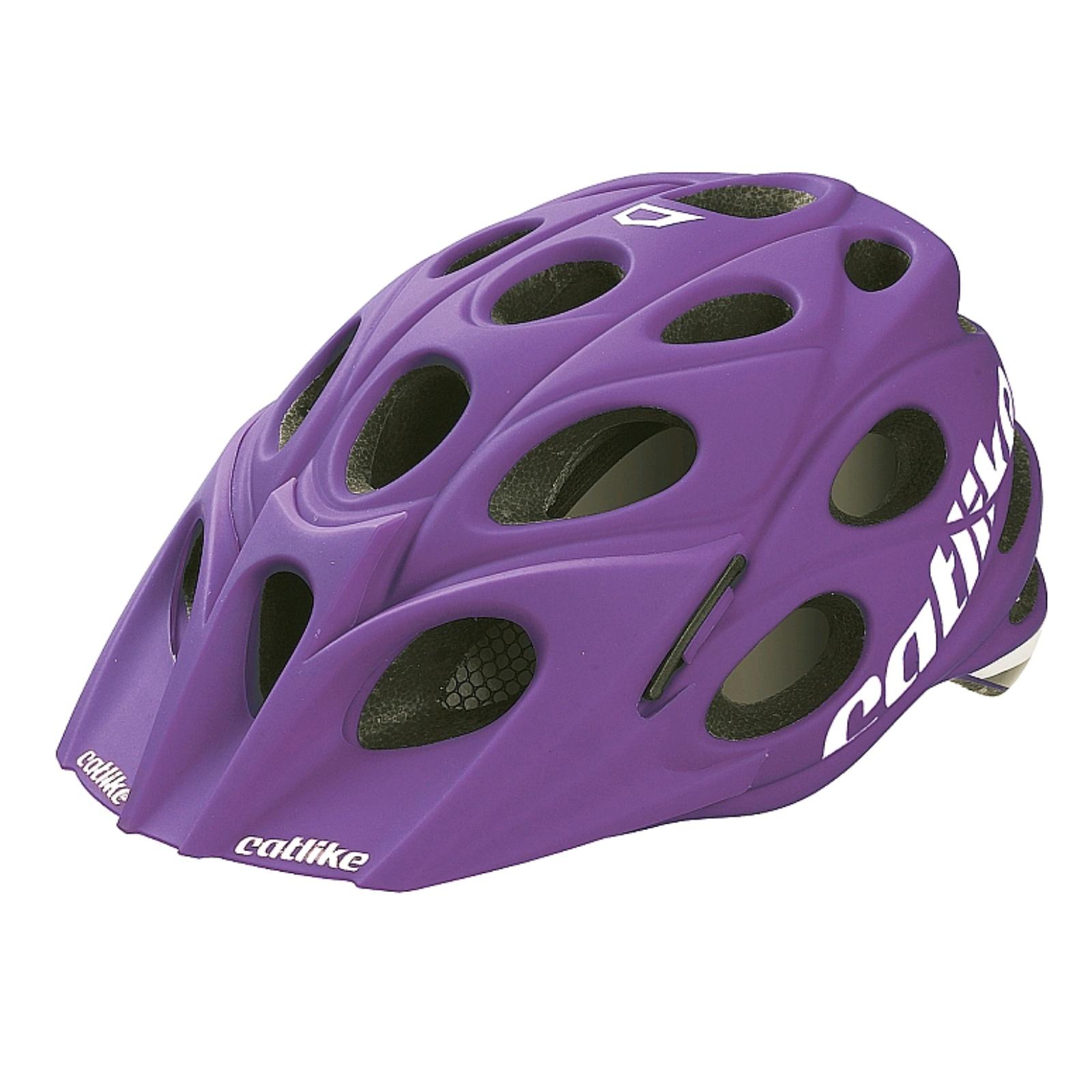 Cyklo přilba CATLIKE LEAF fialová - vel. MD