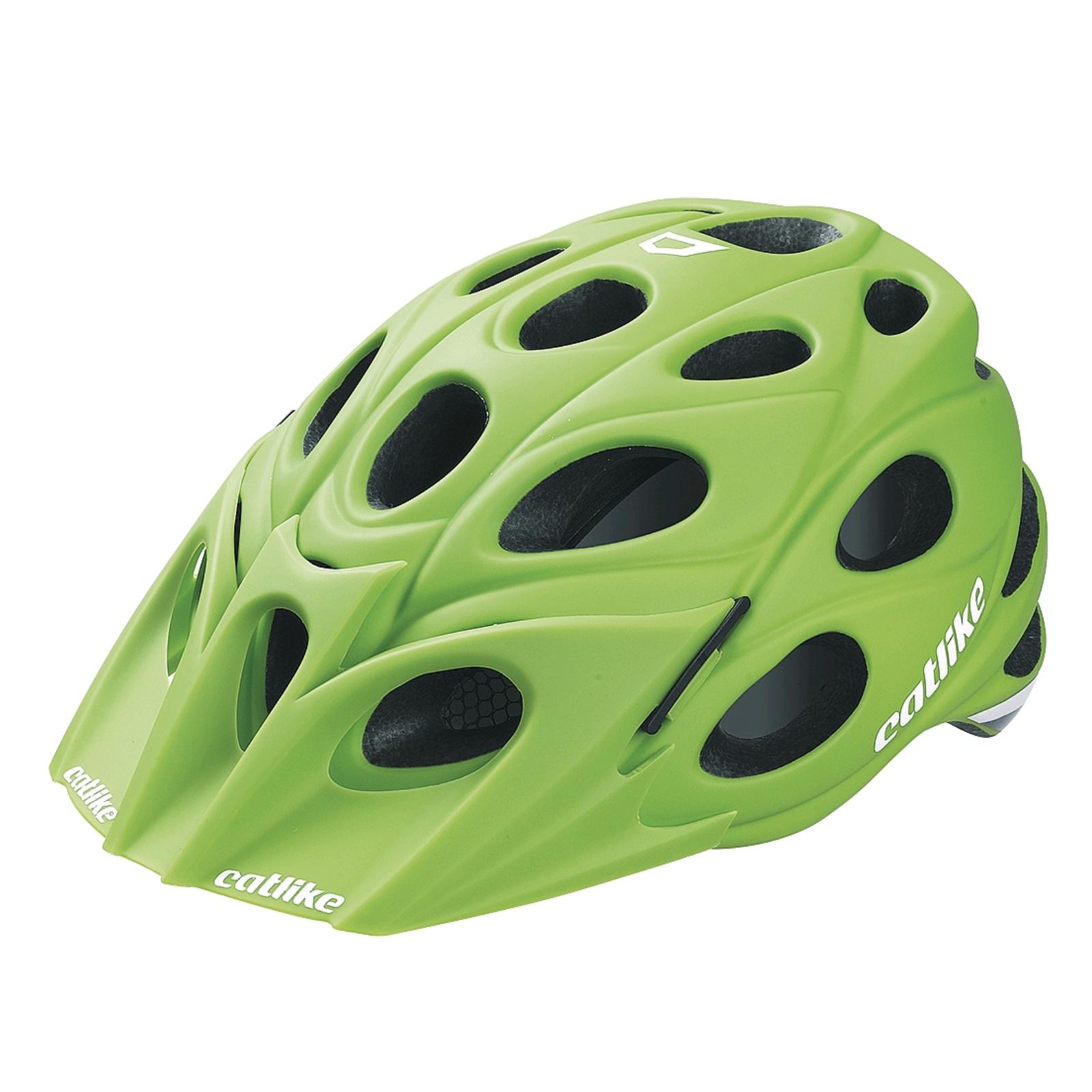 Cyklo přilba CATLIKE LEAF zelená - vel. LG