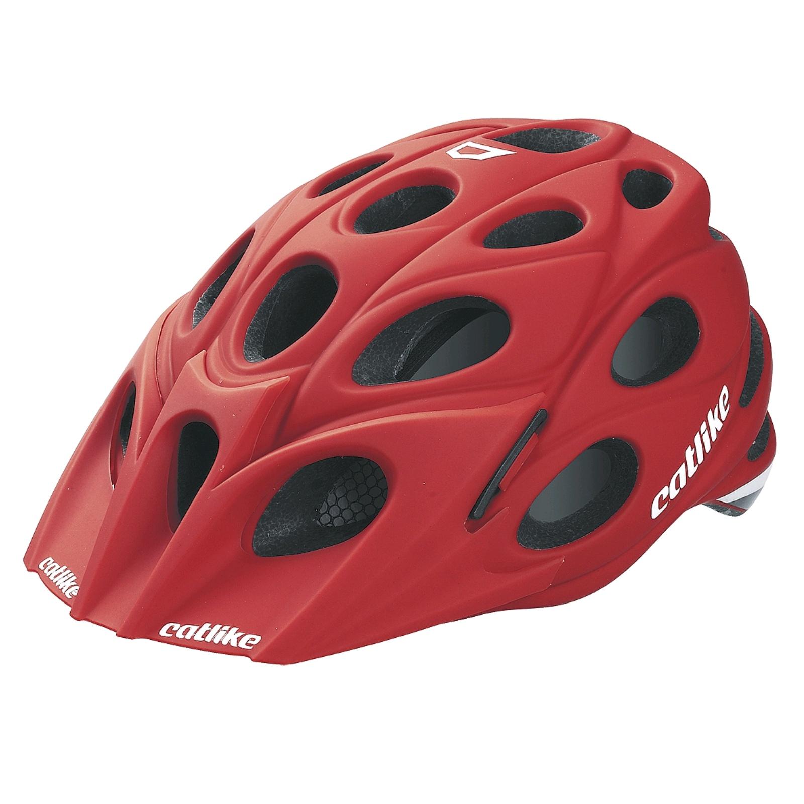 Cyklo přilba CATLIKE LEAF červená - vel. LG