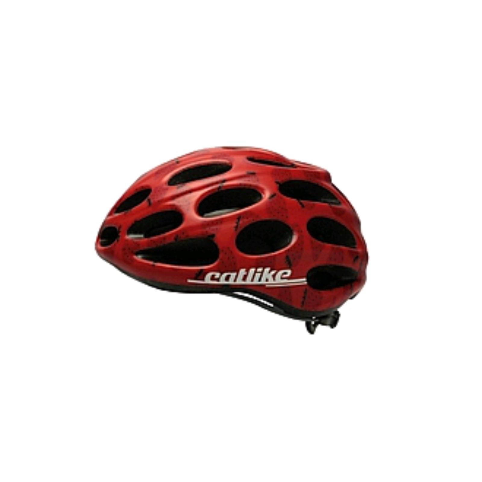 Cyklo přilba CATLIKE Chupito červená - vel. LG