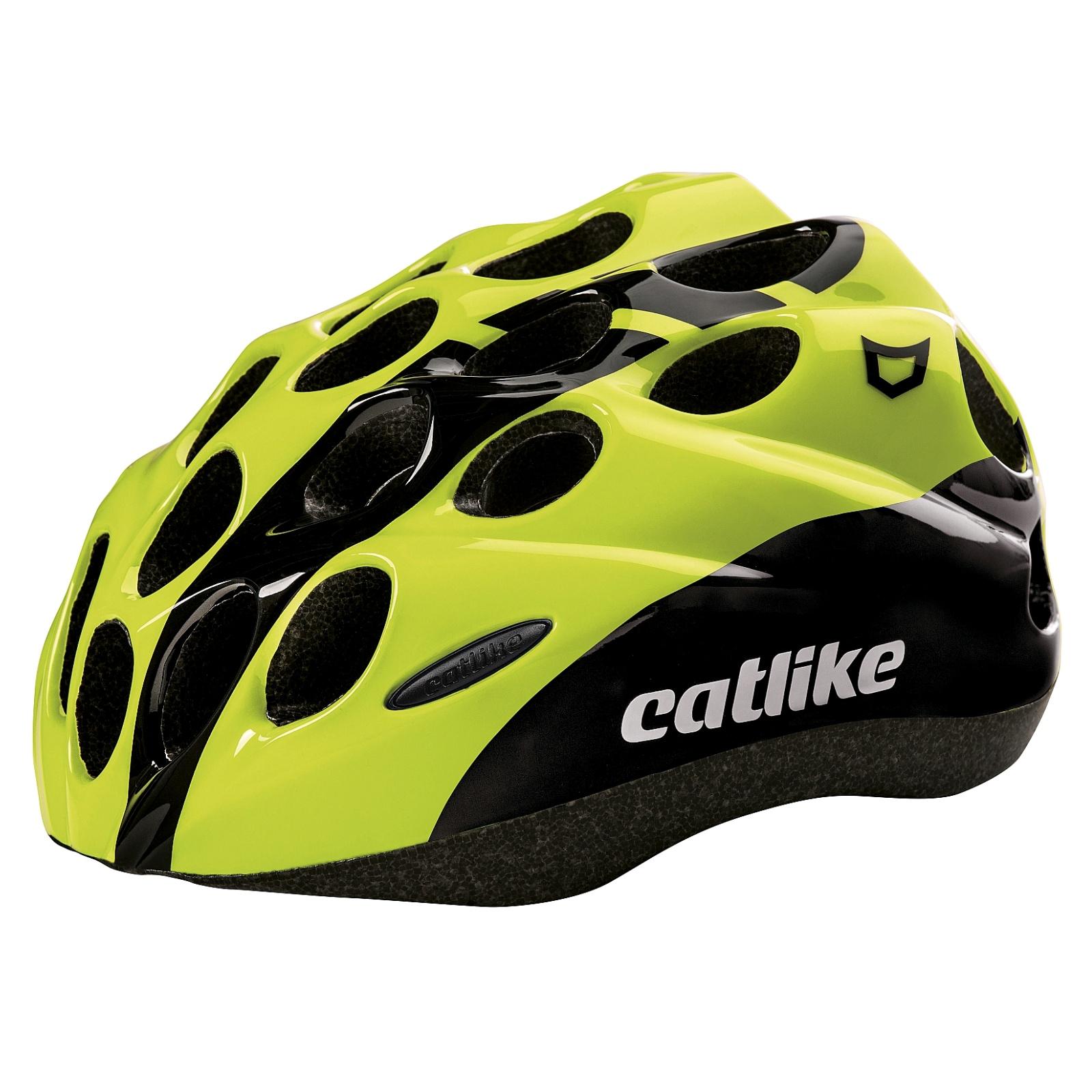 Cyklo přilba CATLIKE Kitten žlutá - vel. SM