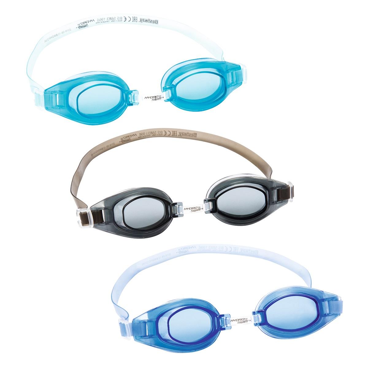 Plavecké brýle BESTWAY Hydro Swim 21049 - modré
