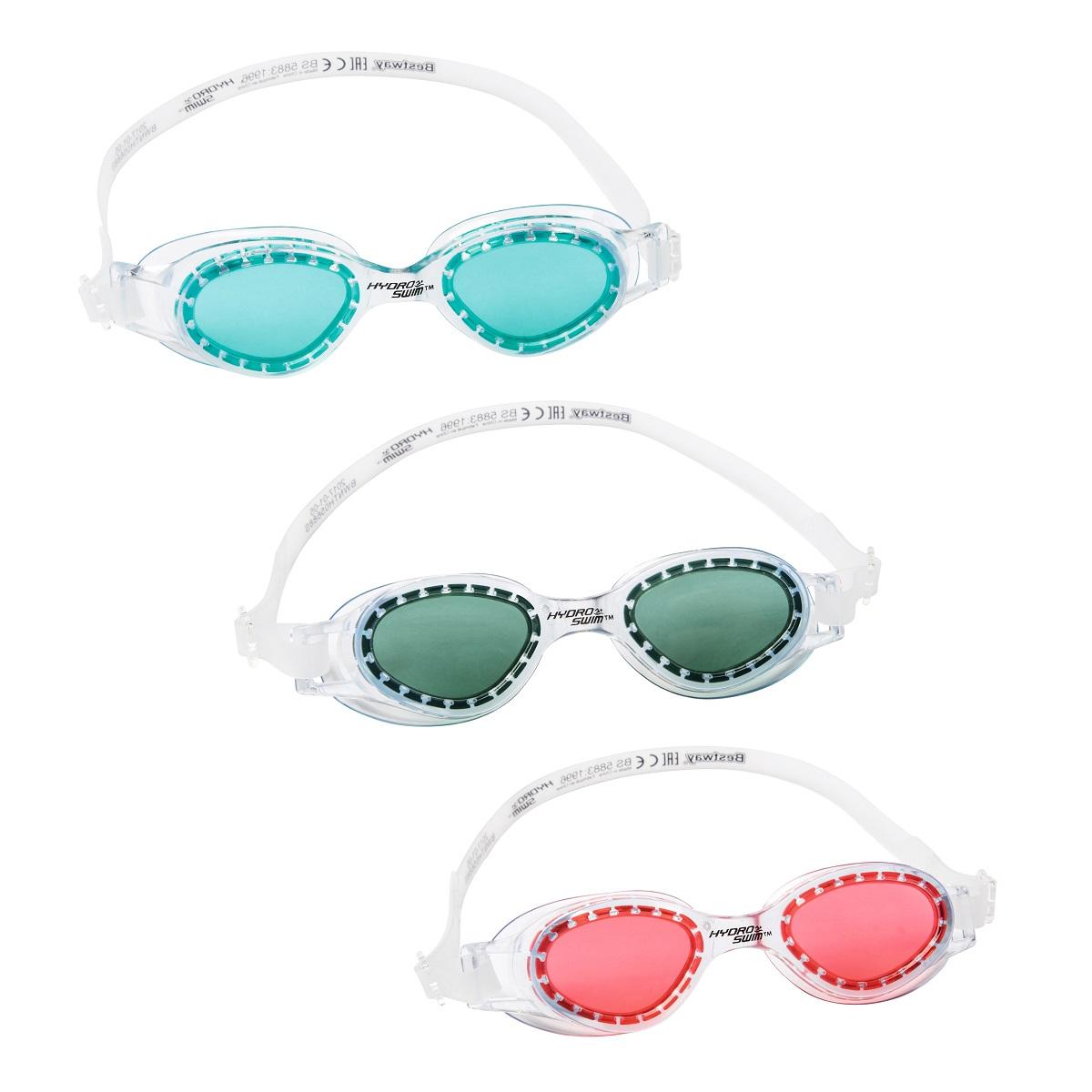 Plavecké brýle BESTWAY Hydro Swim 21063 - modré