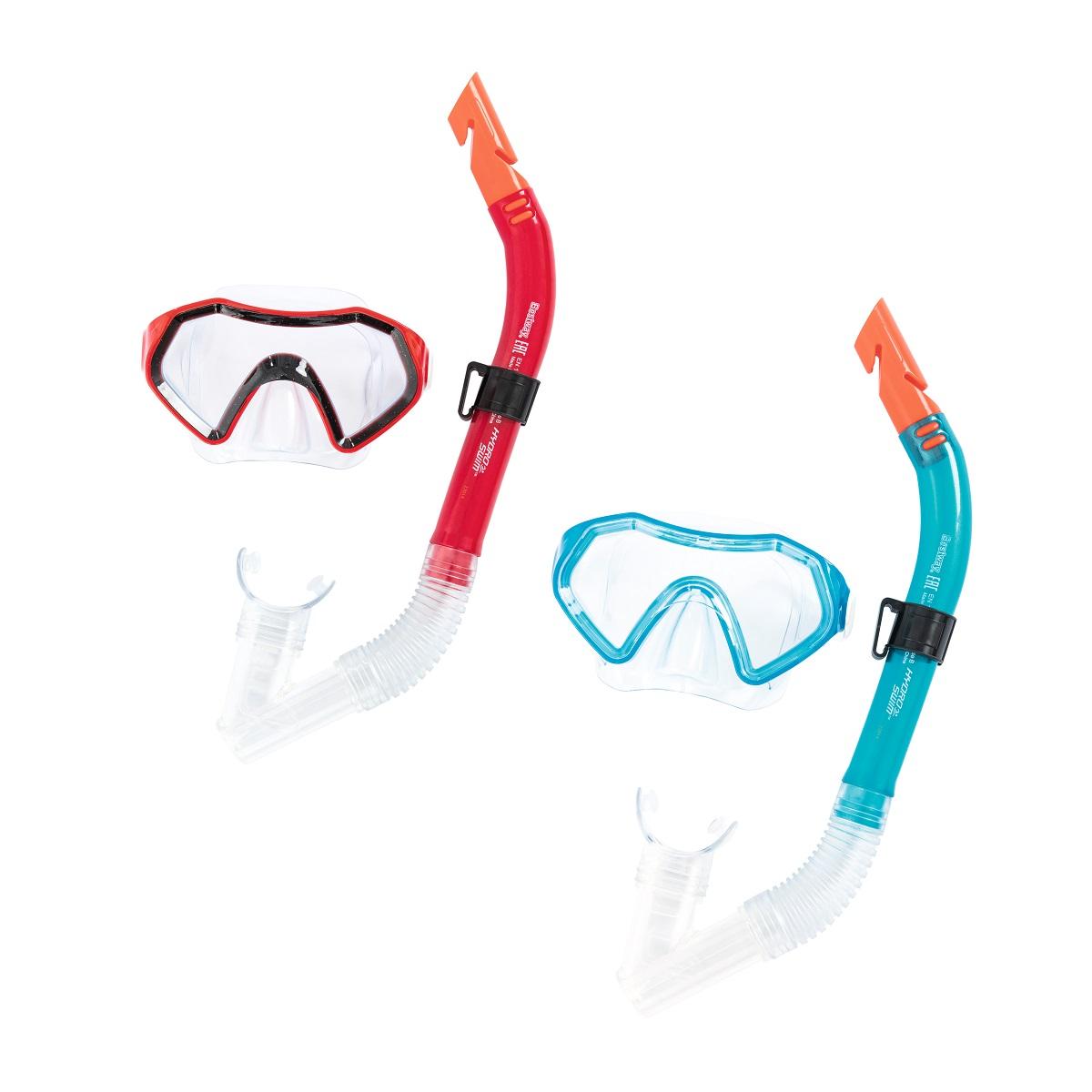 Potápěčský set BESTWAY Hydro Swim 24025 - červený
