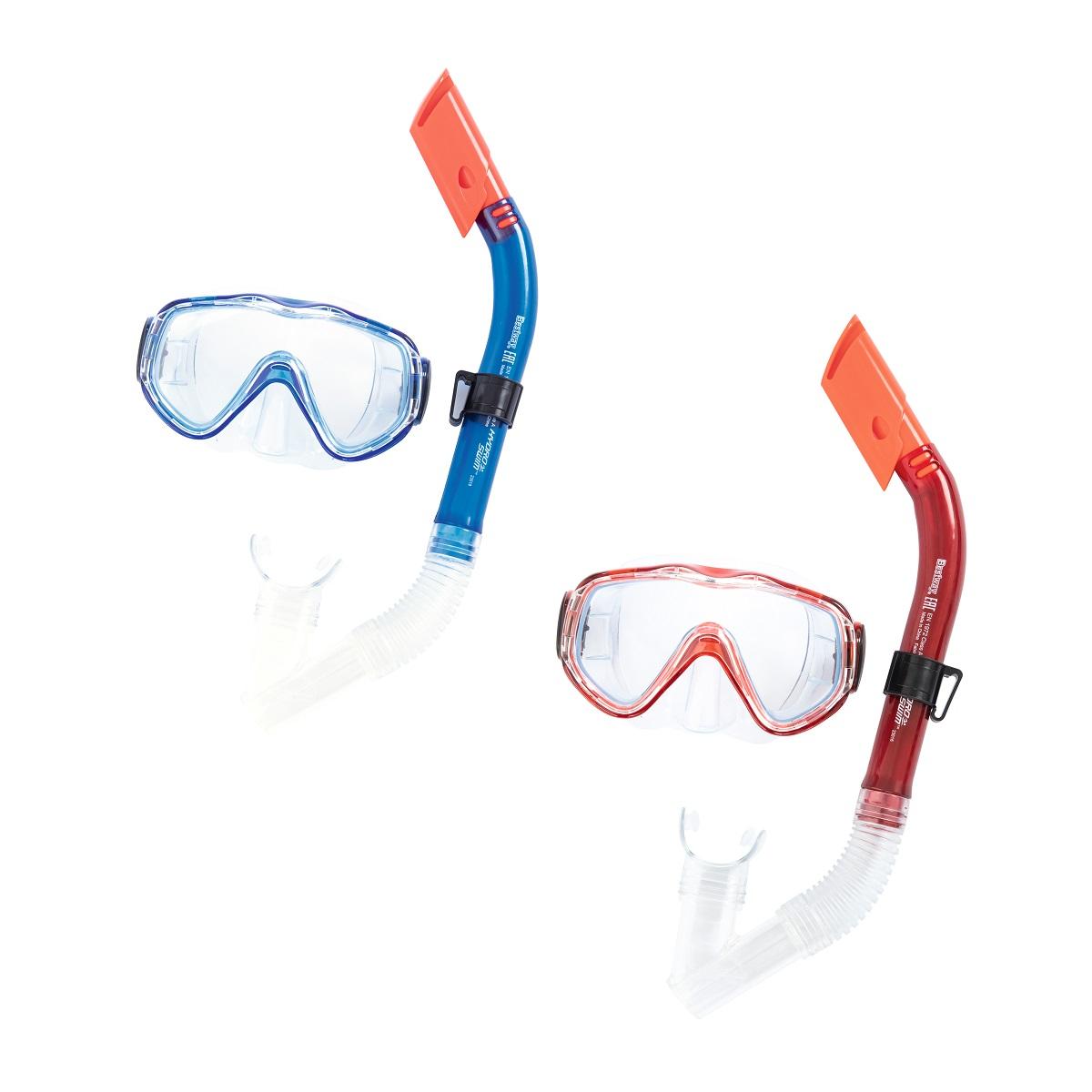 Potápěčský set BESTWAY Hydro Swim 24028 - červený