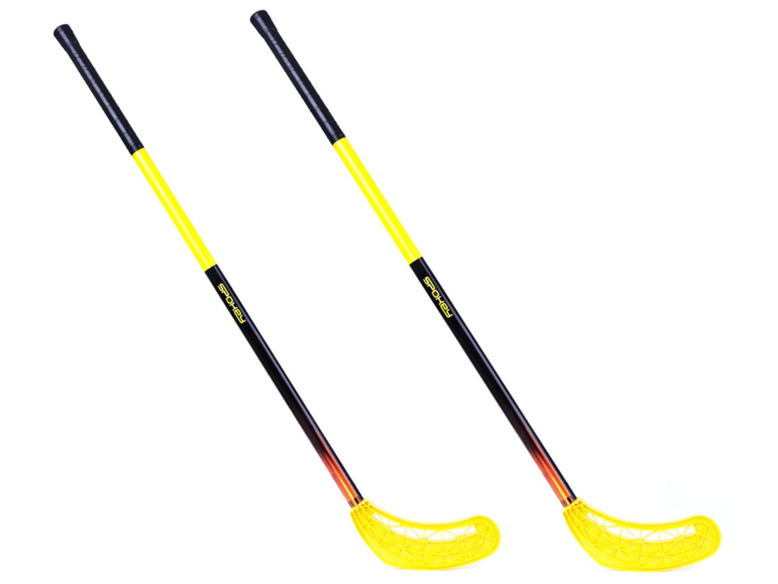 Florbalová hůl SPOKEY Avid II žlutá