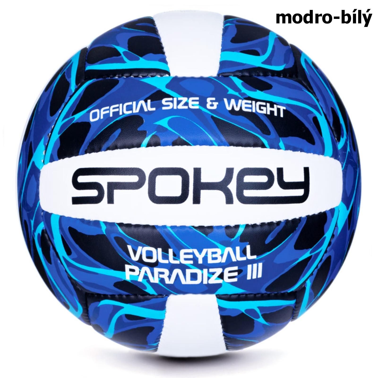 Volejbalový míč SPOKEY Paradize III modro-bílý