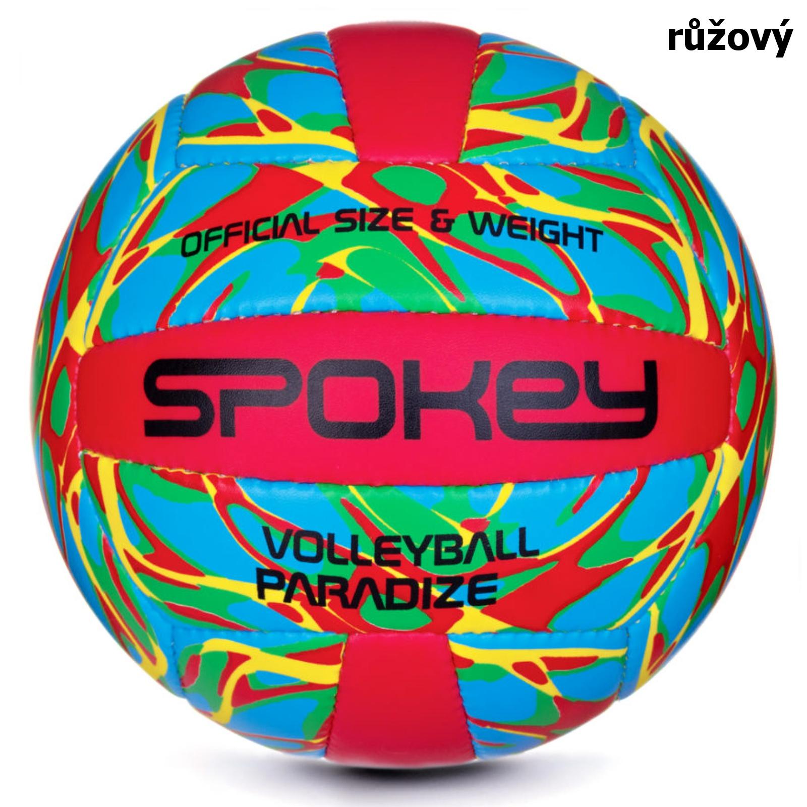 Volejbalový míč SPOKEY Paradize III růžový