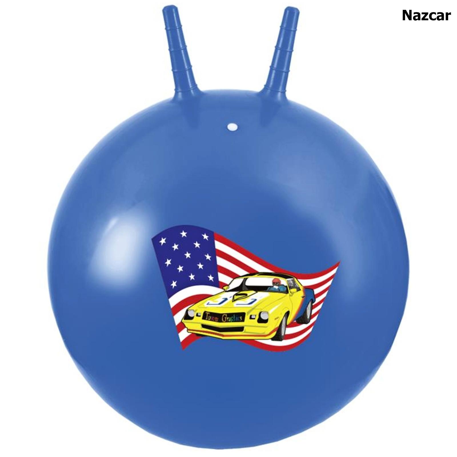 Skákací míč SPOKEY 60 cm Nazcar