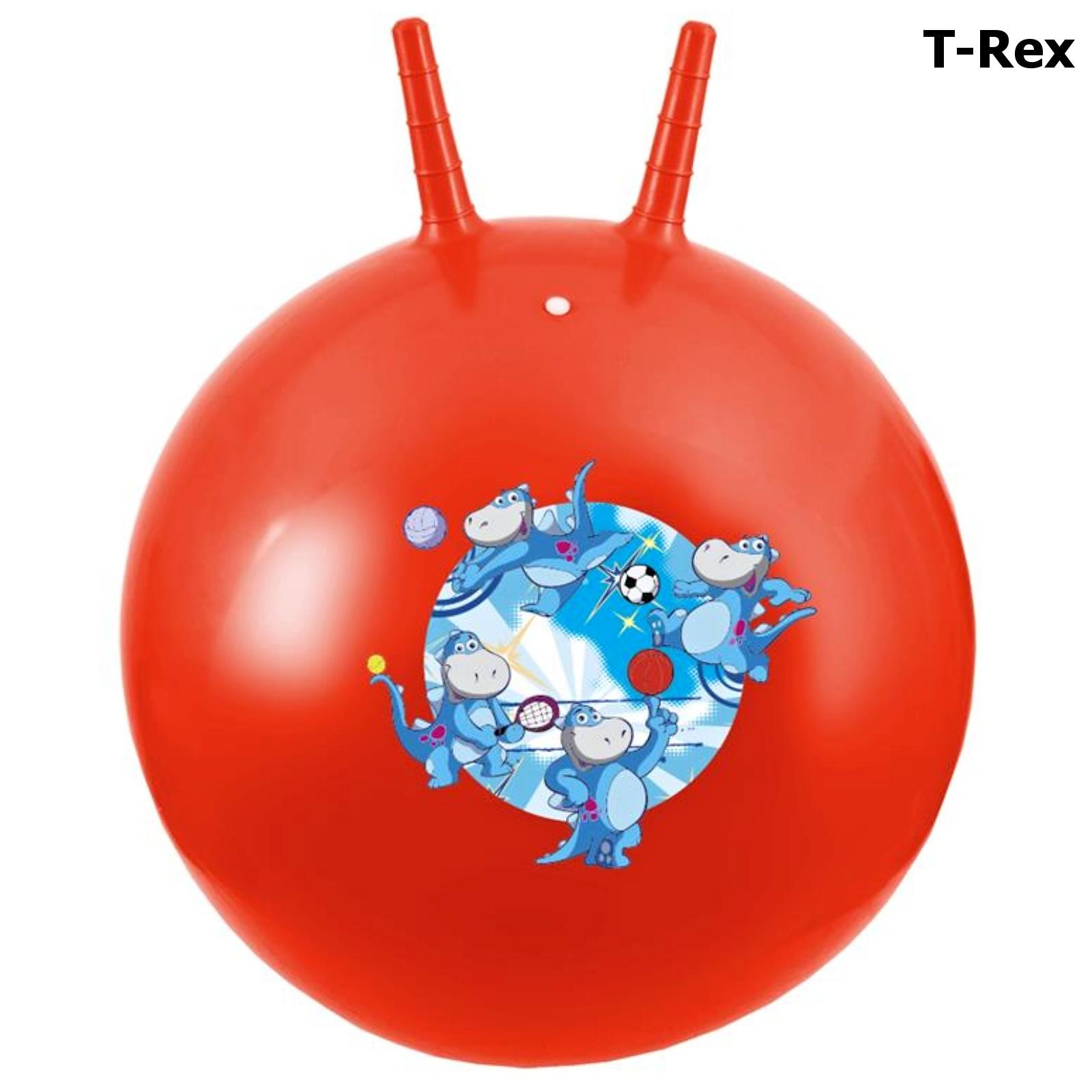 Skákací míč SPOKEY 60 cm T-Rex