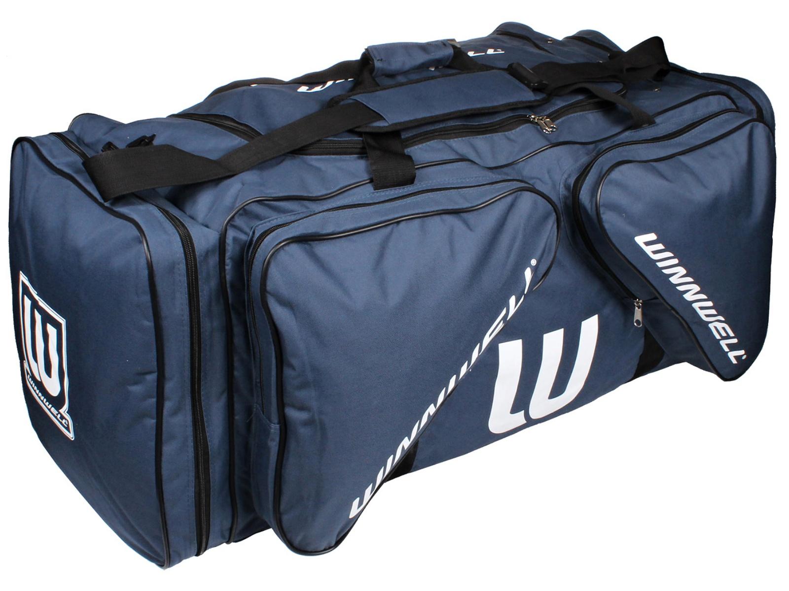 Hokejová taška WINNWELL Carry Bag JR tmavě-modrá
