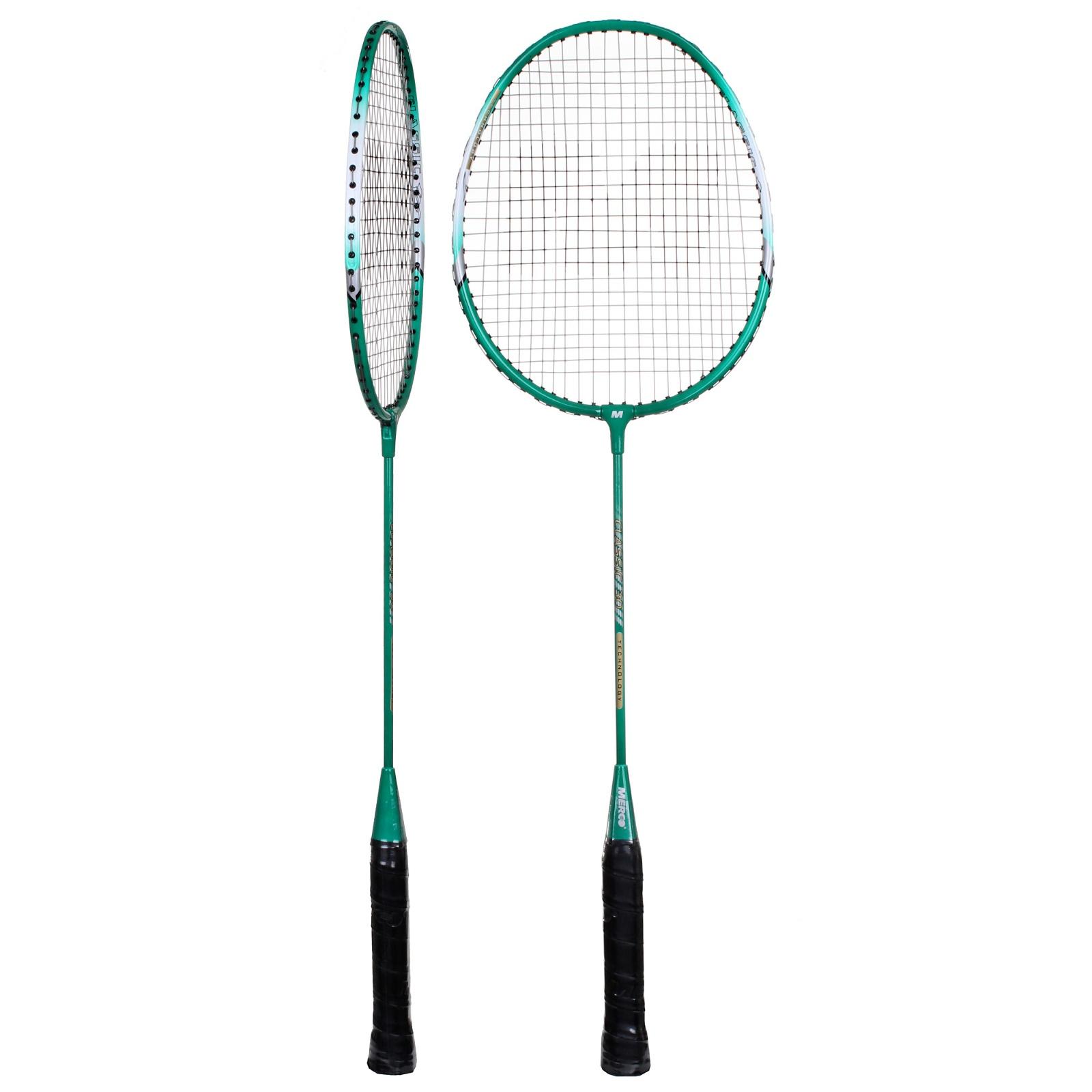 Badmintonový set MERCO Classic zelený