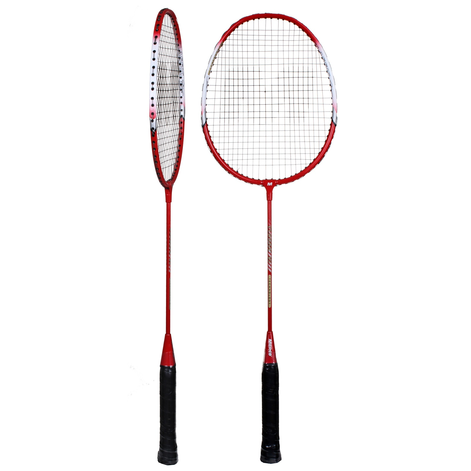 Badmintonový set MERCO Classic červený