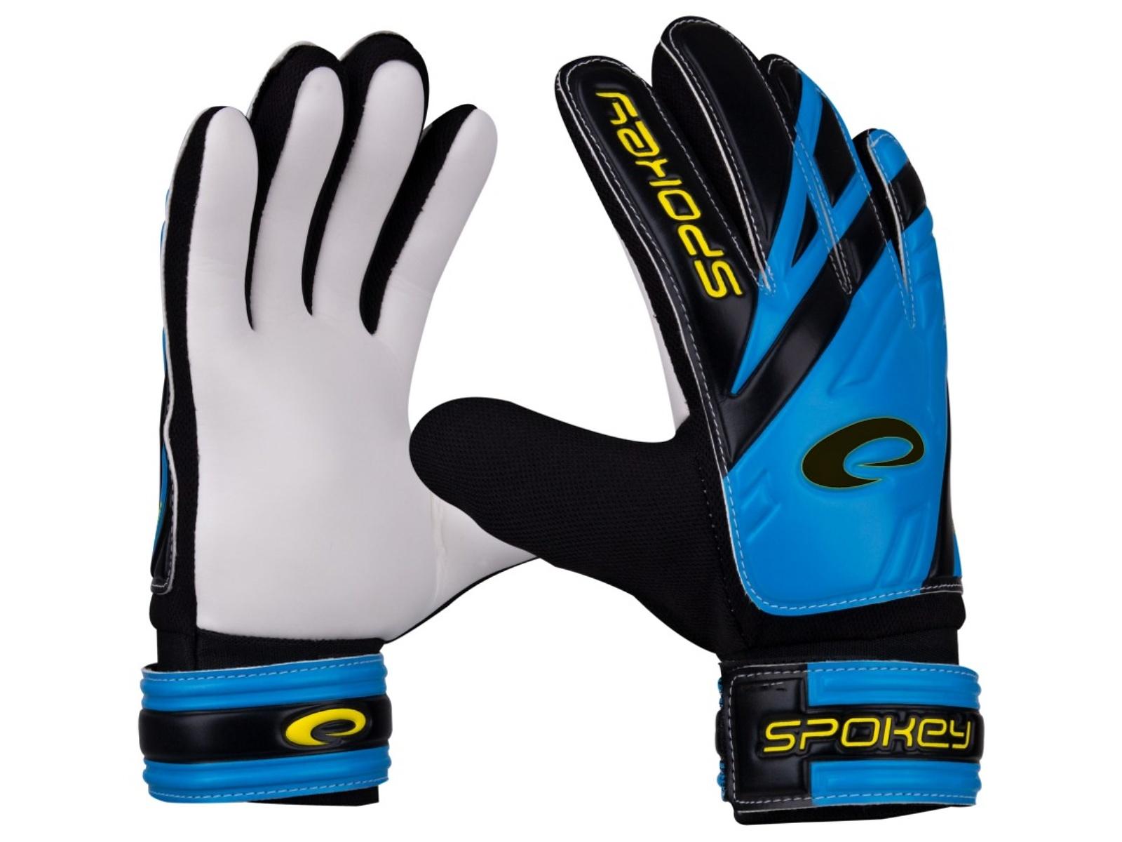 Brankářské rukavice SPOKEY Hold Junior 4 modré