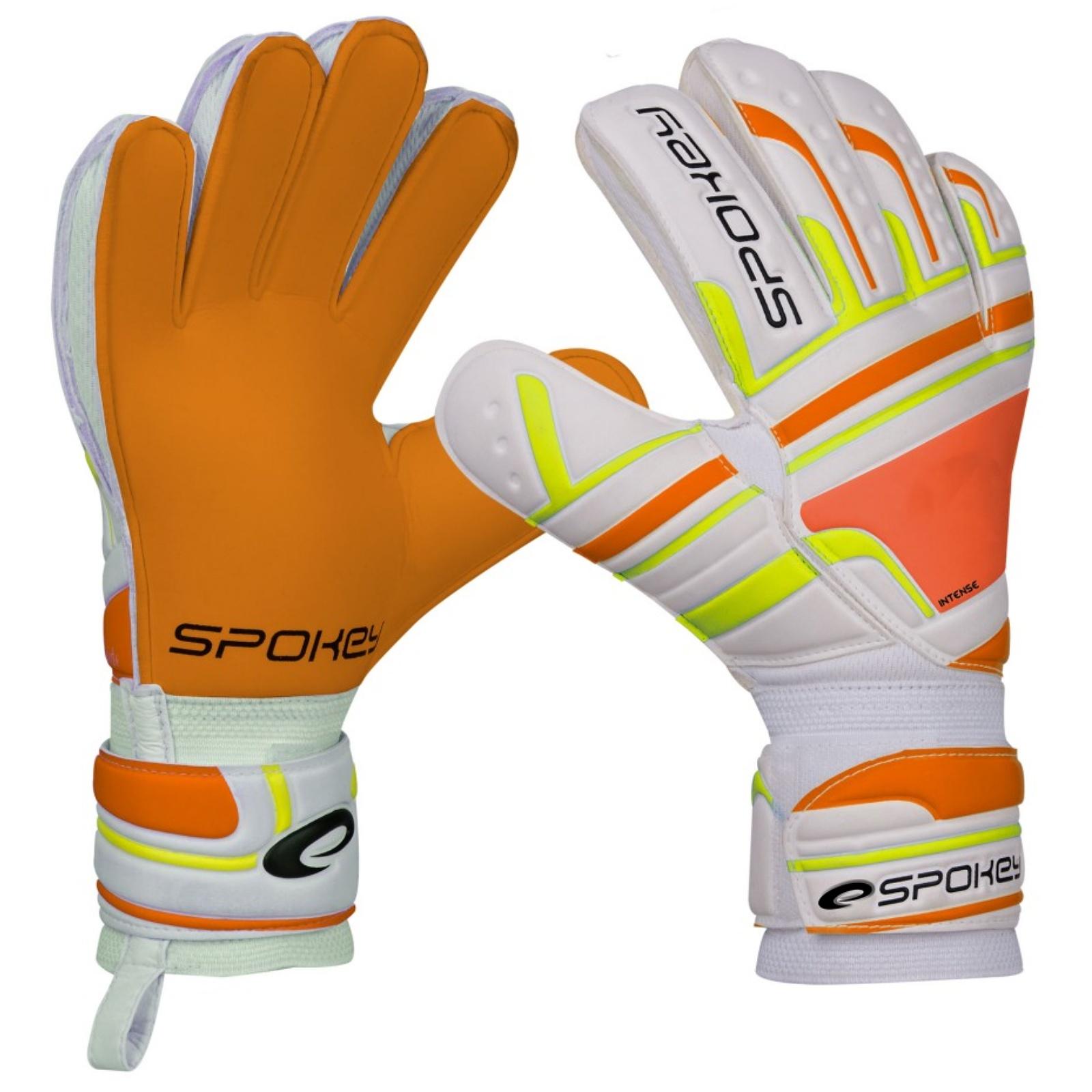 Brankářské rukavice SPOKEY Intense 7 oranžové