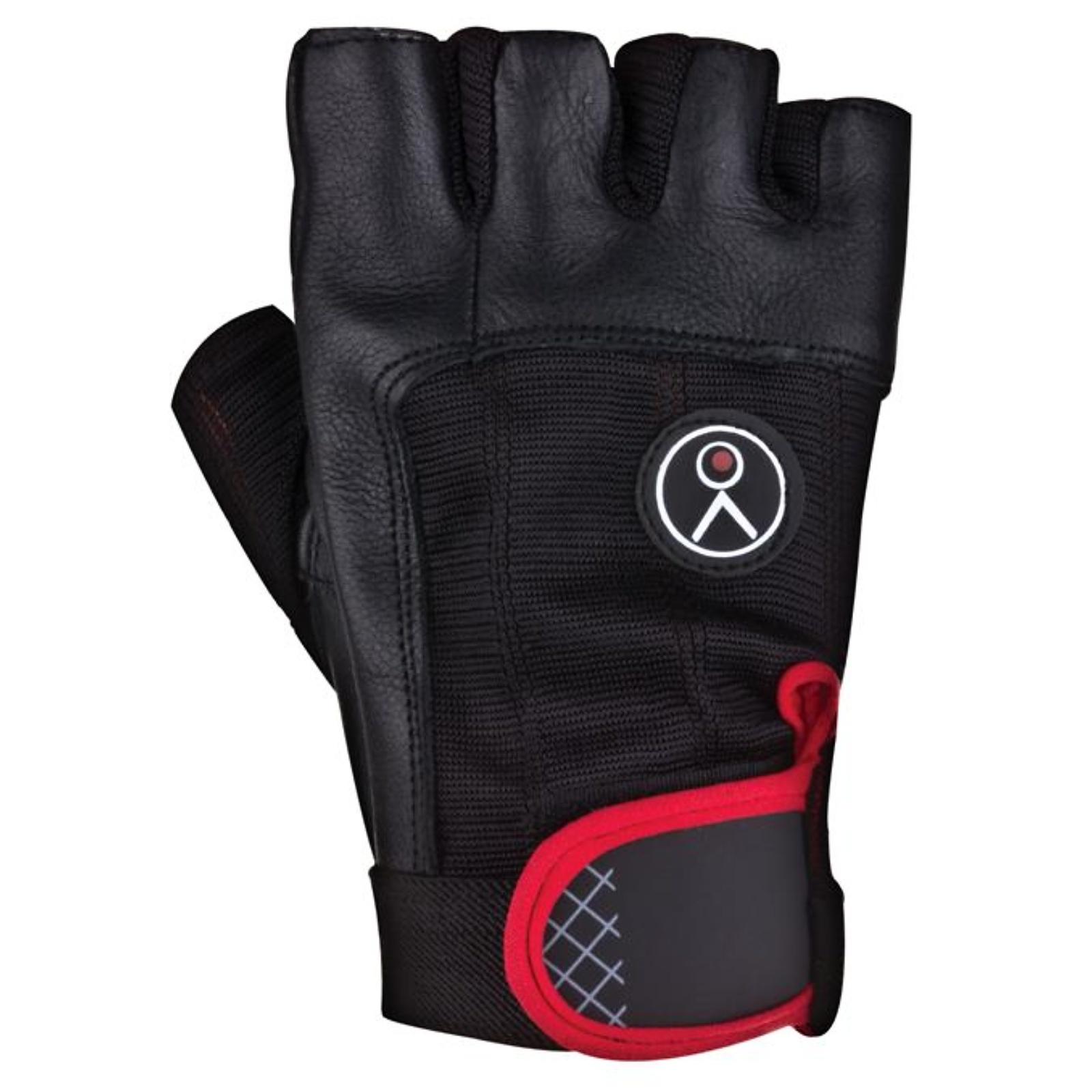 Fitness rukavice SPOKEY Fiks černé - vel. M