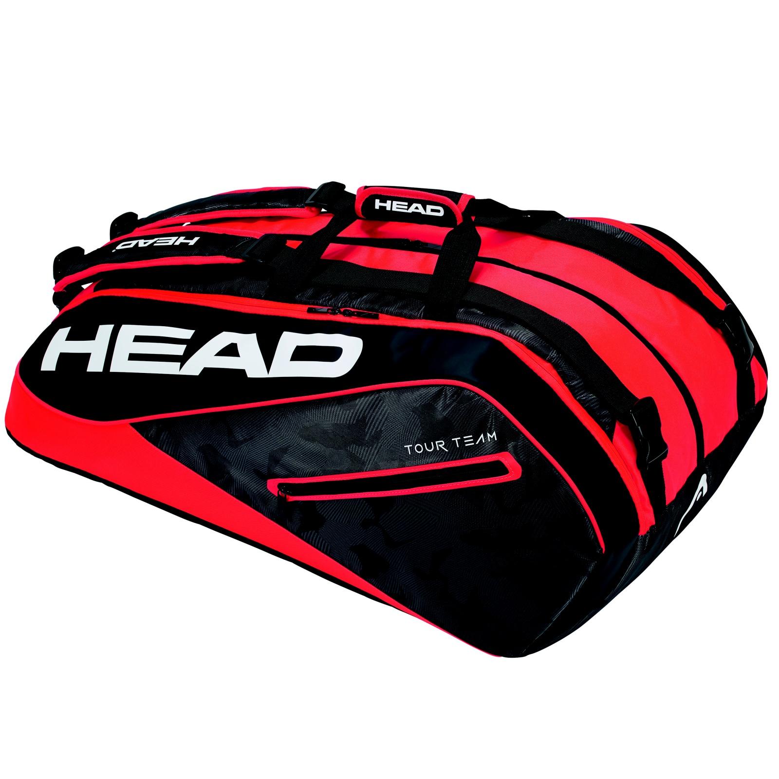 Tenisová taška HEAD Tour 12R Monstercombi - červená