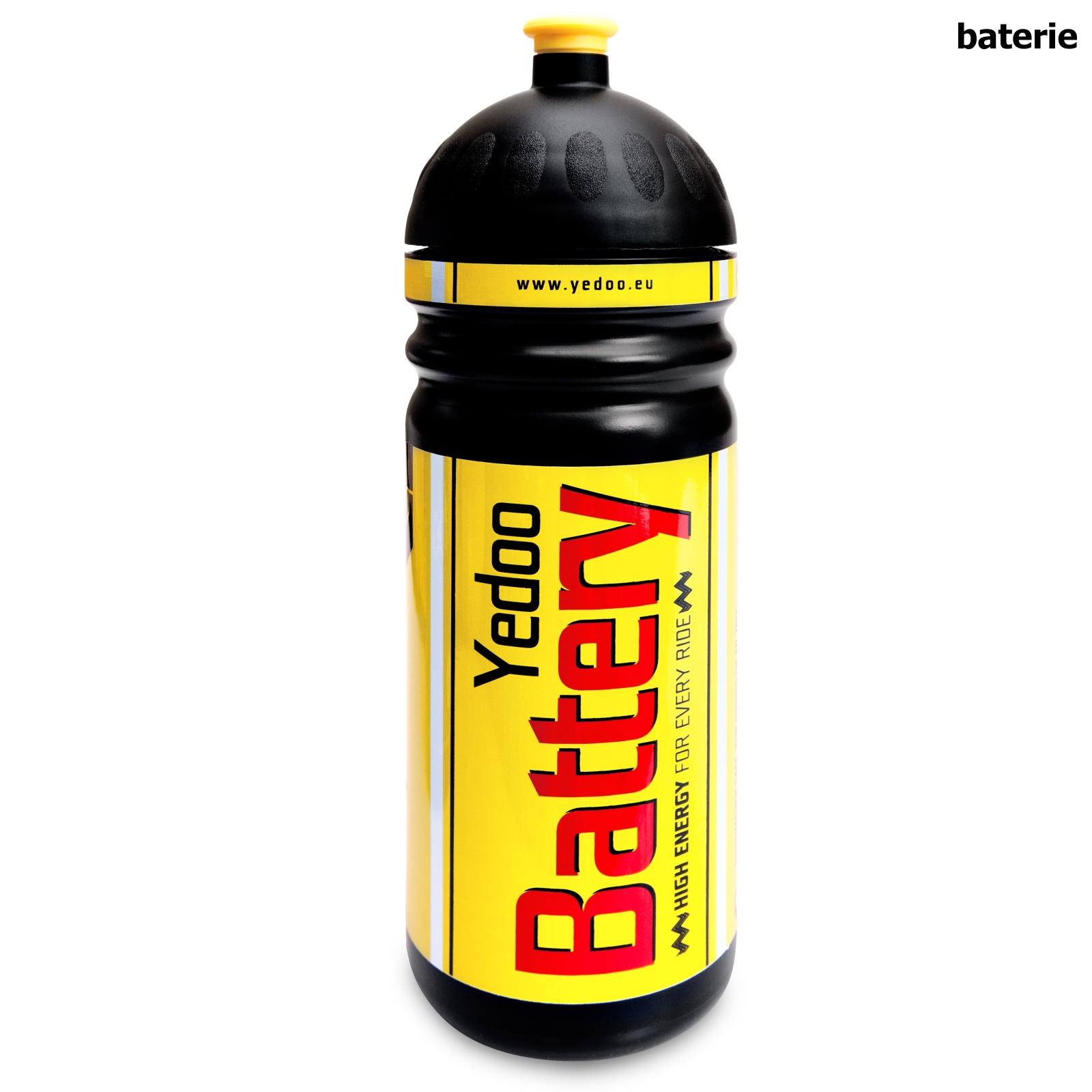 Zdravá láhev YEDOO 0,7l - baterie