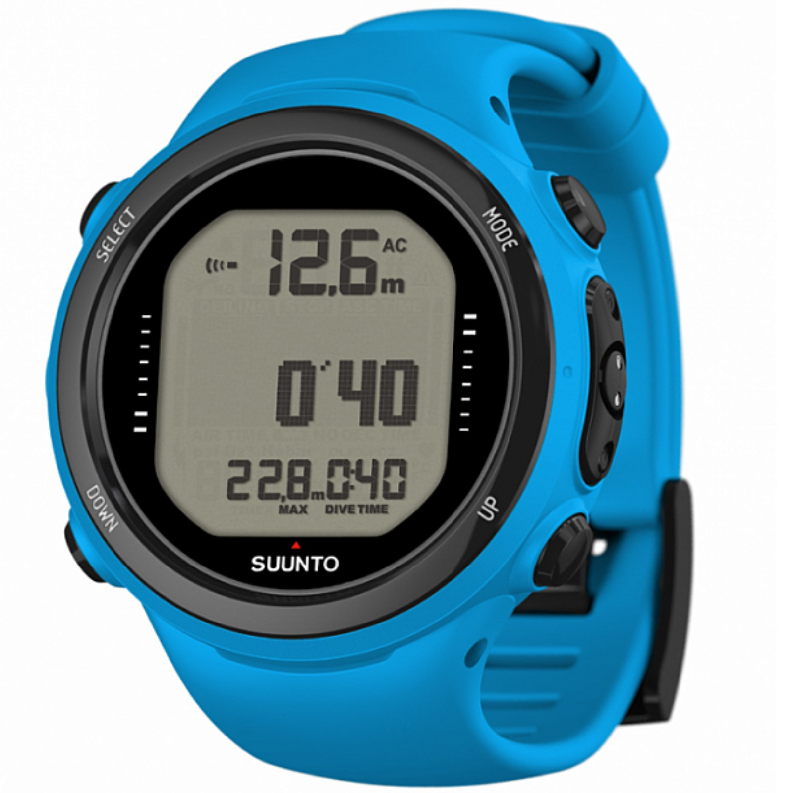 Potápěčský počítač SUUNTO D4i Novo + USB modrý