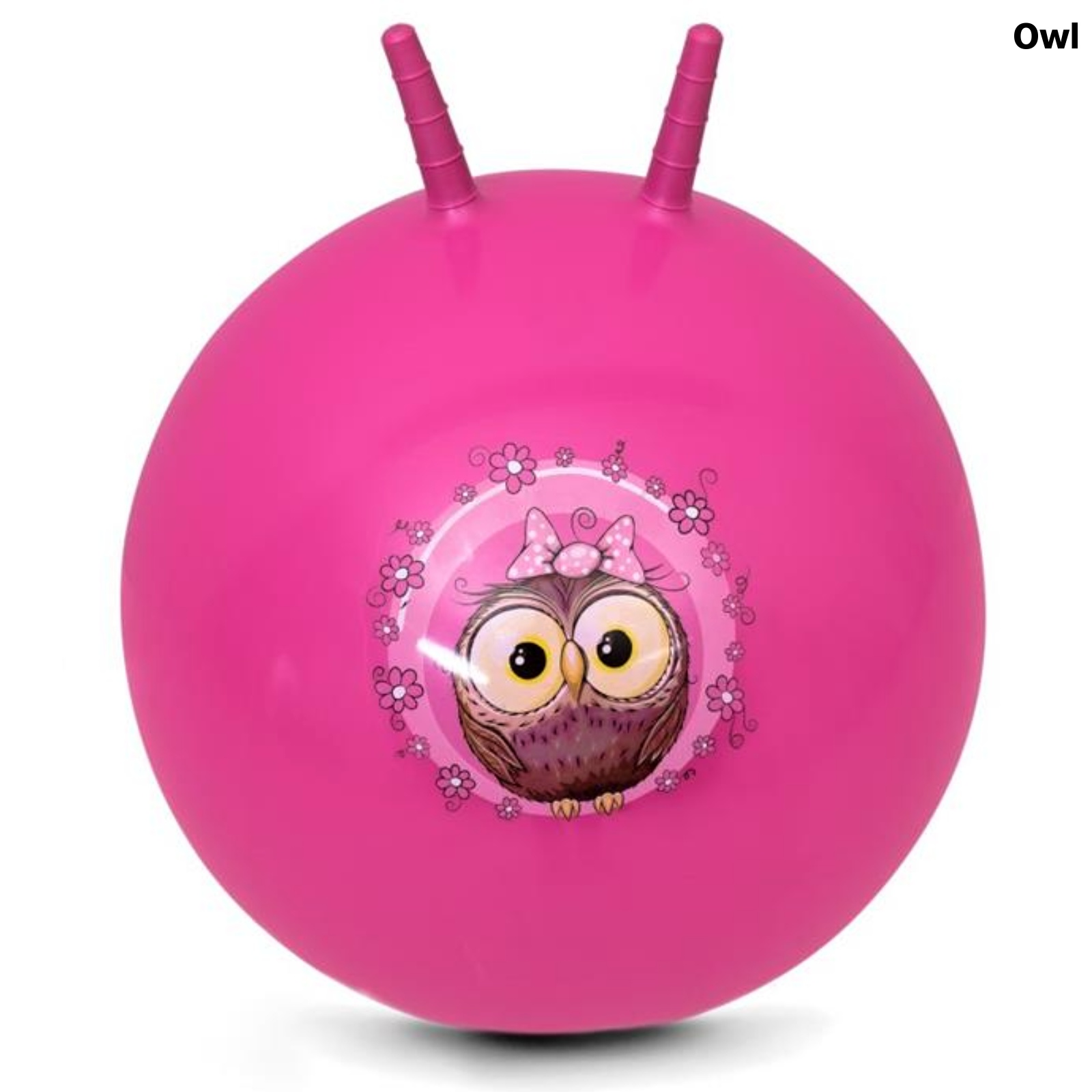 Skákací míč SPOKEY 60 cm Owl