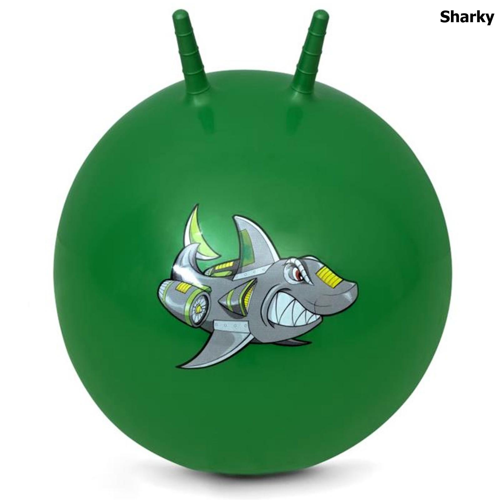 Skákací míč SPOKEY 60 cm Sharky