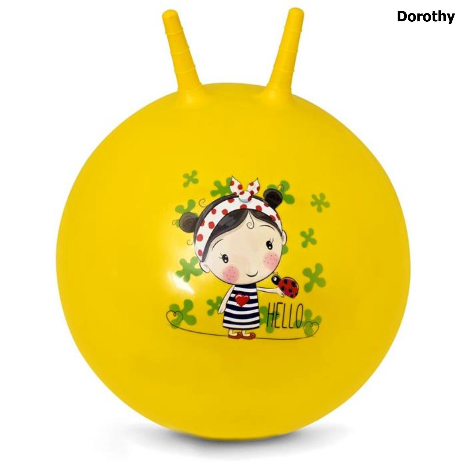 Skákací míč SPOKEY 60 cm Dorothy