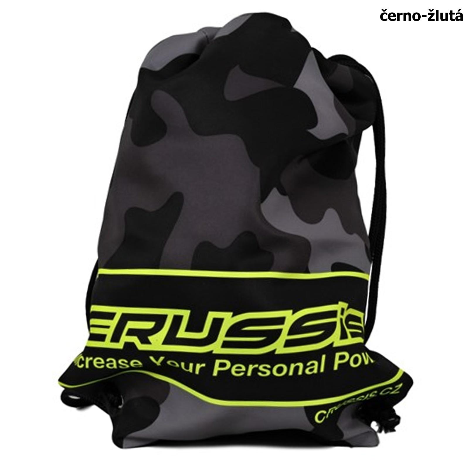 Sportovní taška CRUSSIS černo-žlutá