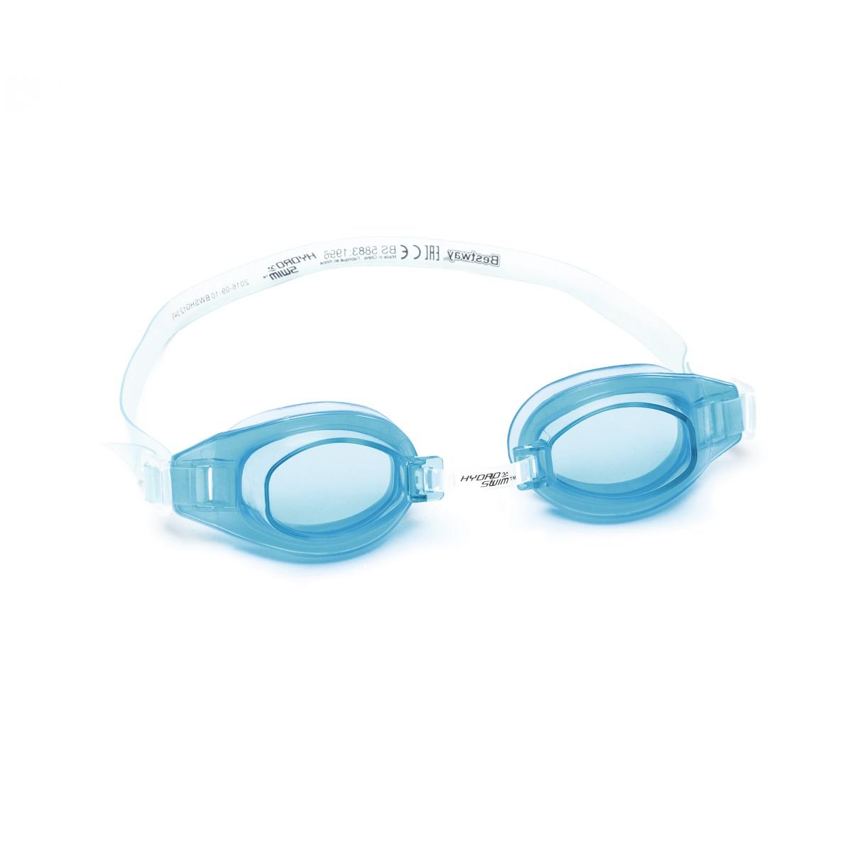 Plavecké brýle BESTWAY Hydro Swim 21049 - světle modré