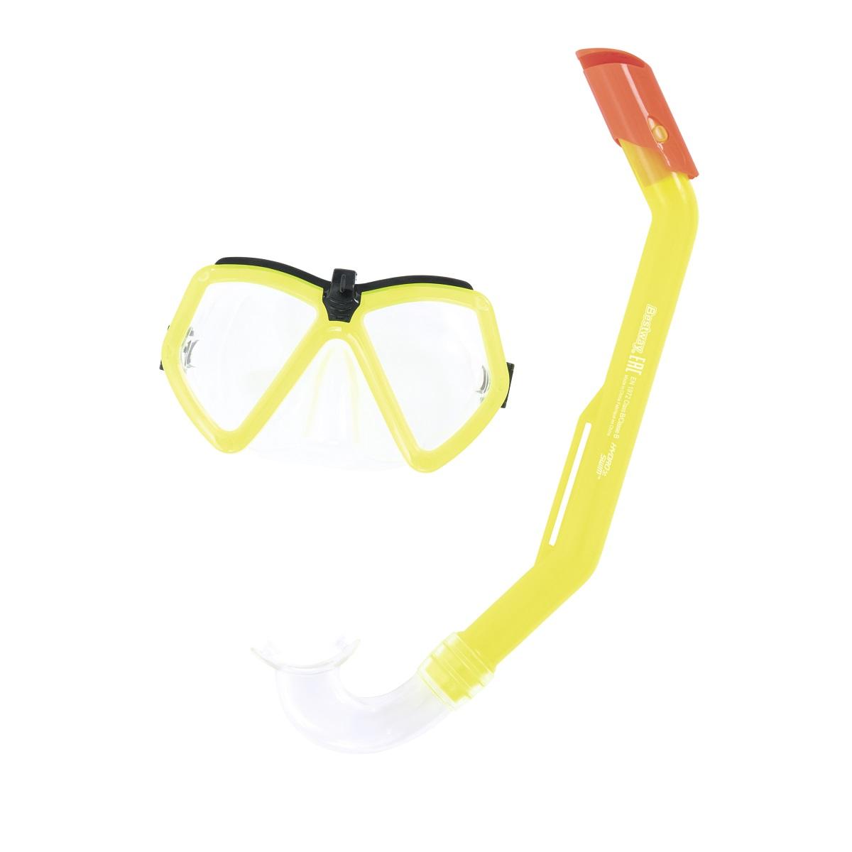 Potápěčský set BESTWAY Hydro Swim 24027 - žlutý