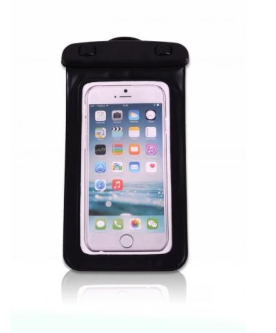 Vodotěsný obal na mobil ELEMENTS GEAR - černý