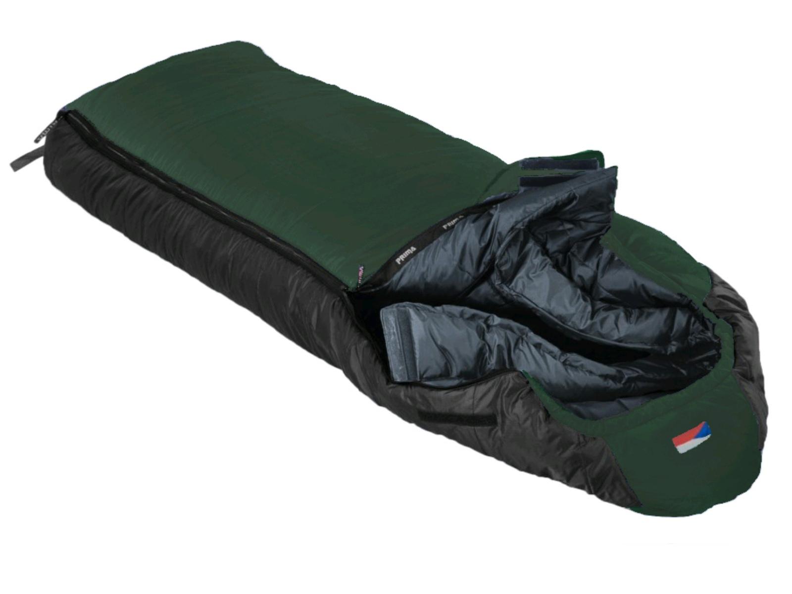 Spací pytel PRIMA Manaslu 230 Comfortable zelený - levý zip